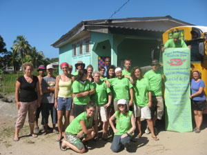 Project funded by our responsible holiday in Honduras